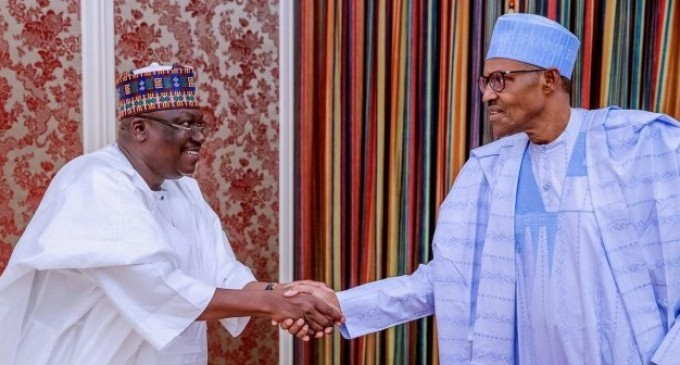 Just In: Buhari, NASS leadership meet in Aso Rock