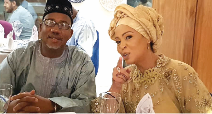 Bauchi Governor, Mohammed weds second wife in Lagos