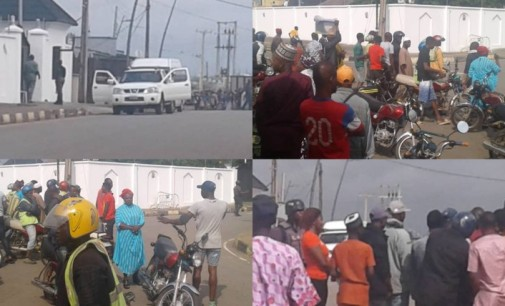 EFCC Storms Ambode's Residence