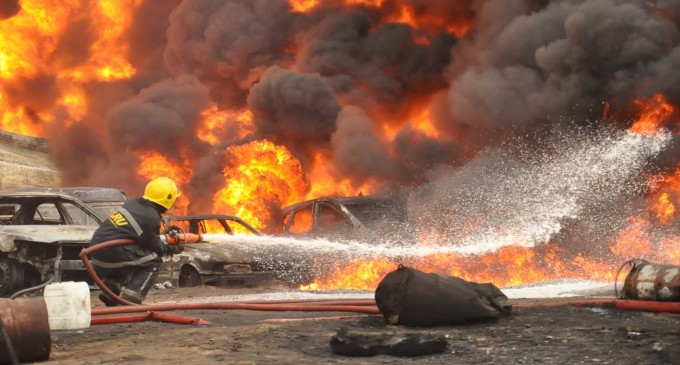 Alleged Sabotage Leads to Fire Outbreak on NNPC's OML 20 Oil Asset
