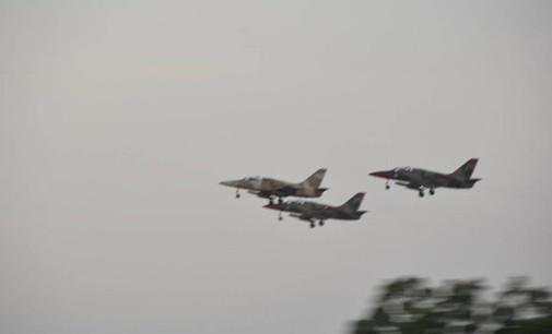 Three Fighter Jets Hit Terrorist Command Center in Borno, Kill Scores of Insurgents