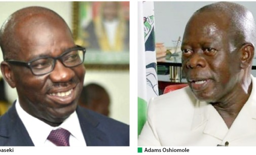 New Twist in Edo Saga as Obaseki pays Oshiomole, Otaru of Auchi Surprise Visit in Celebration of Eid-al-Adha.