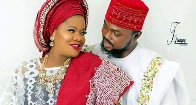 Toyin Abraham Remarries, Exchanges Vow With Kolawole Ajeyemi