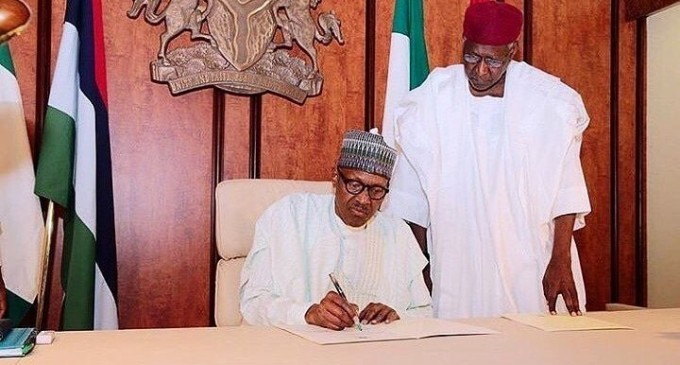 JUST IN: Buhari Tests Negative for COVID-19, Abba Kyari is Positive