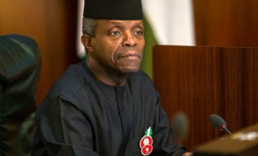 Don't Vilify Osinbajo over Unsubstantiated Allegation, CAN Warns