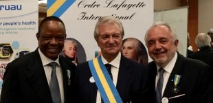 Citizen of Humanity…Captain Hosa Okunbo Honoured With the Prestigious Lafayette Award at the United Nations Day for Global Peace In Geneva