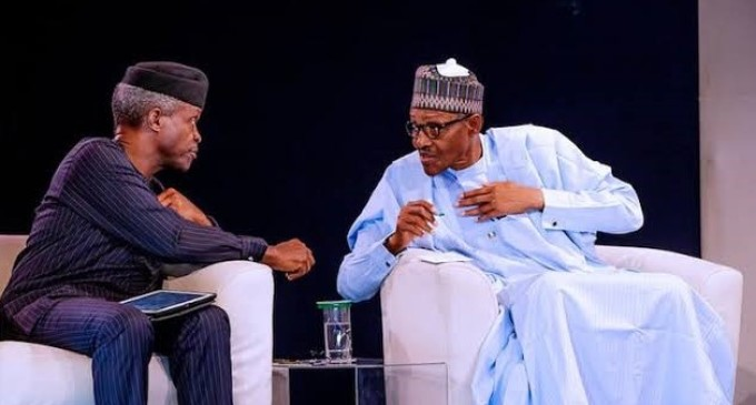 Osinbajo: Ethnic, Political Interpretations Of My Actions Unfortunate, Says Buhari