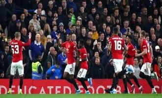 BREAKING: Manchester United Trash Chelsea at Stamford Bridge