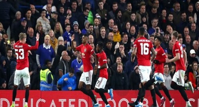BREAKING: Manchester United Trash Chelsea at Stamford Bridge