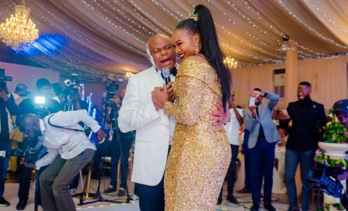 Fidelity Bank MD, Nnamdi Okonkwo, Throws Never-to-be-forgotten 50th Birthday Party For Wife, Uche