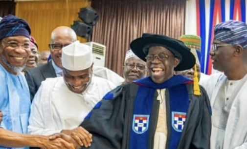 Like a Starved Greyhound, Tokunbo Afikuyomi is Back…Now Grovels At the Feet of Asiwaju Bola Tinubu Again