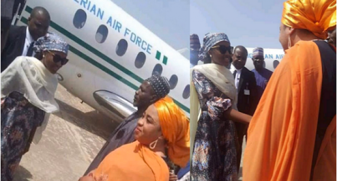 Controversy Over Buhari's Daughter's Use of Presidential Jet