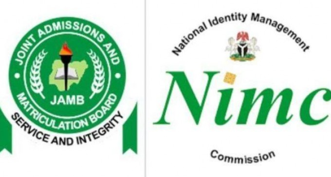 UTME: JAMB Suspends Use of NIN for Registration of Candidates
