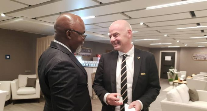 COVID-19: NFF to Get $500,000 FIFA Relief Fund