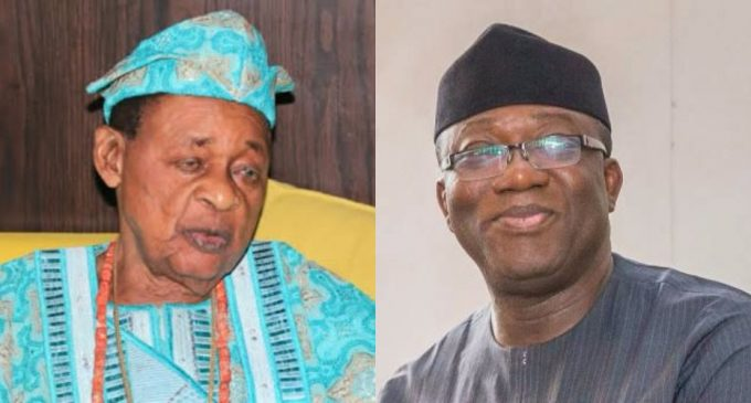 Alaafin Warns  Fayemi Over  Attempt To Dethrone 16 Ekiti oba
