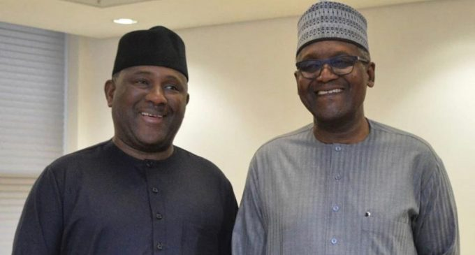 After Aliko Dangote's Visit, Flour Mill Chairman Hosted by BUA Boss
