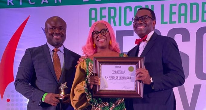 Femi Otedola Wins African Person of the Year
