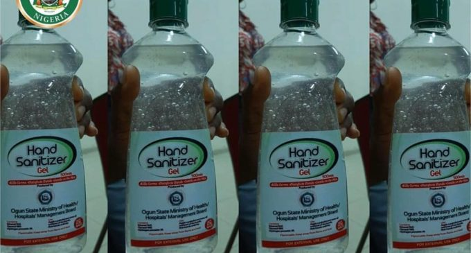 Breaking: Dapo Abiodun Distributes Free Hand Sanitizers Across the State