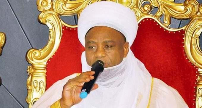 Sultan Knocks CAN, Christian Leaders on Killings