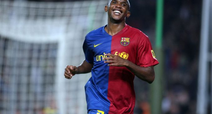 Drogba, Diouf Not At My Level – Eto'o