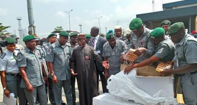 Customs Intercepts N1.2b Cannabis on Lagos Waters