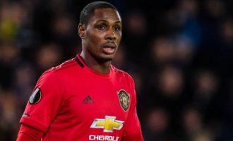Ighalo May Leave Man Utd this Week