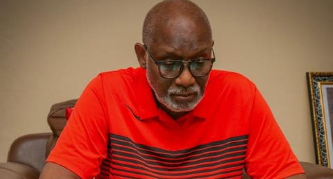 Ondo 2020: My Deputy Plans to Embarrass Me With Fake Documents —Akeredolu