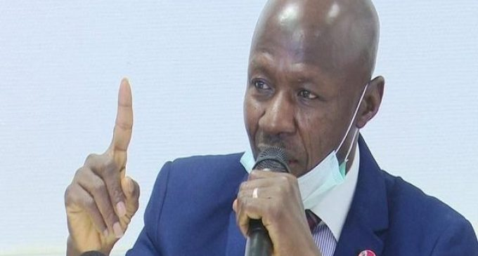 Magu, Lawyer Submit 34-Page Defence, Photos to Presidential Panel