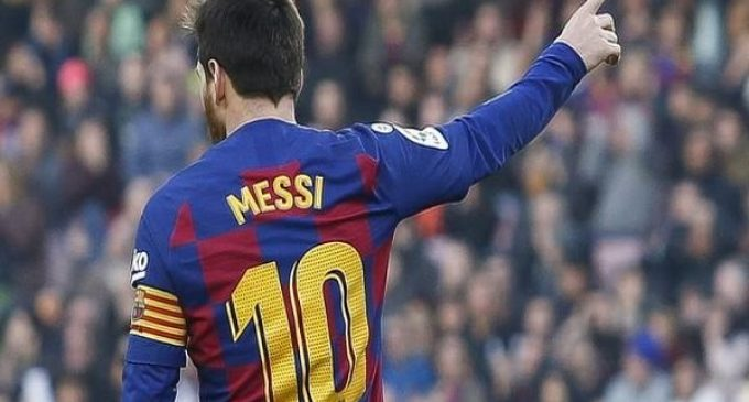 Messi May Quit Barca Next Year