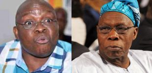 Fayose to Obasanjo: I'll Send You Back To Prison If I become President