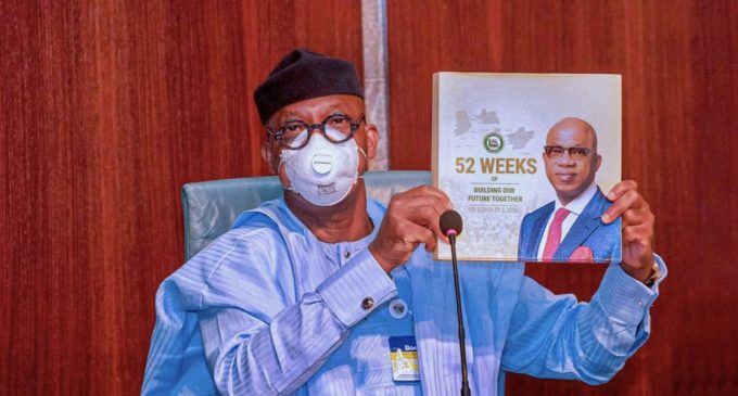 Breaking…President Buhari Receives Dapo Abiodun's Compendium of Achievements in 52 Weeks