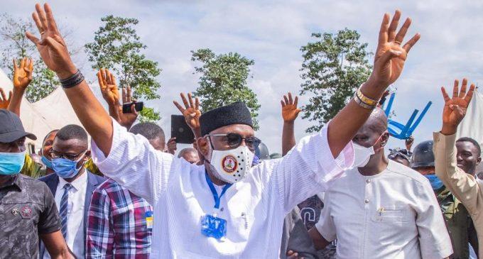 Ondo poll: Akeredolu heads for victory
