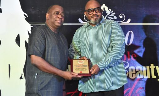 Citypeople Honours Lagos Businessman, Lanre Alfred, for his Sartorial Elegance @ the 2020 Citypeople Fashion and Beauty Awards