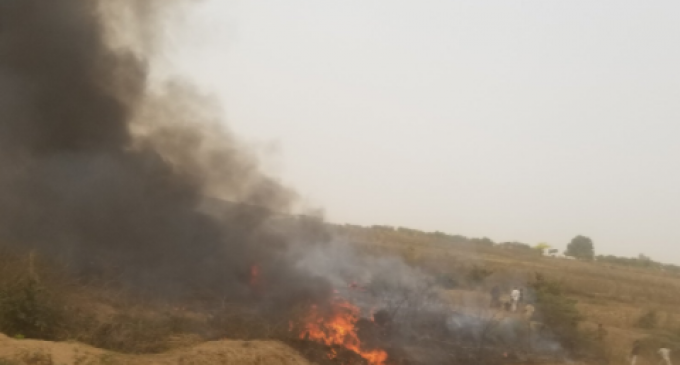 Seven Confirmed Dead As Plane Crashes In Abuja