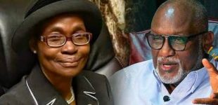 Ondo CJ Accuses Akeredolu, Assembly Of Plot To Remove Her