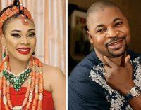 Kingdom Comedy: Nigerians Rubbish Olubadan 's Conferment of Chieftaincy Title on MC Oluomo's Woman Friend,Ehi Ogbebor.