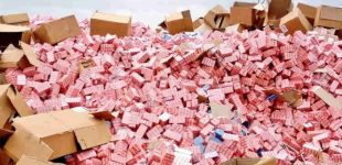 Container-Load Of Tramadol Seized At Lagos Port, As 89 Nigerians, Indian Arrested