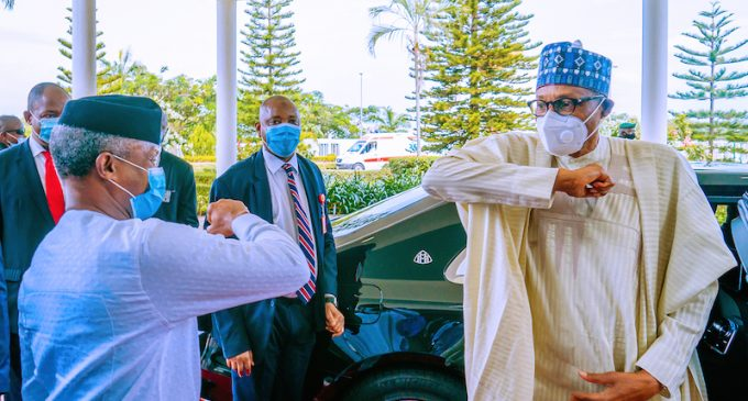 Buhari, Osinbajo To Receive COVID-19 Vaccines Saturday