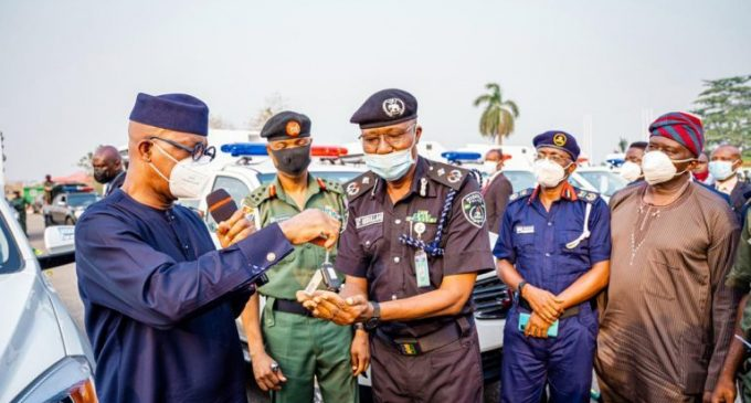Ogun Governor, Abiodun Boosts Security, Hands Over Patrol Vehicles To Operatives