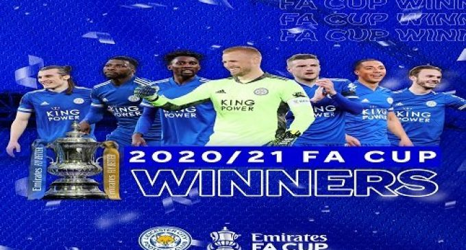 BREAKING: Leicester Beat Chelsea To Win Historic FA Cup