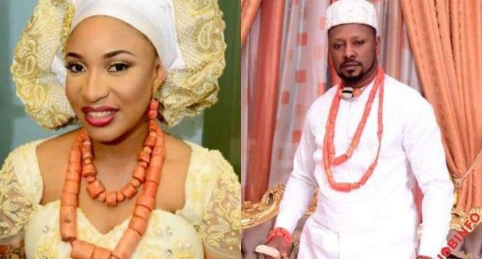 Tonto Dikeh Finds Love Again,Unveils New Lover