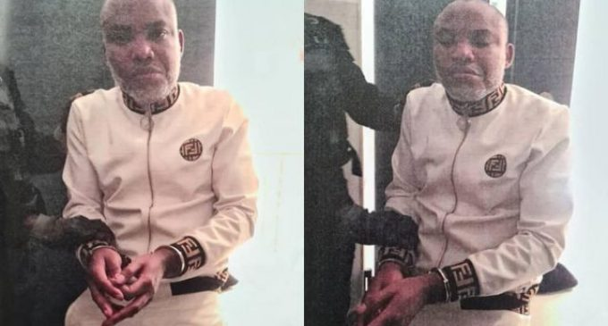 BREAKING: IPOB Leader Nnamdi Kanu Arrested, Remanded in DSS Custody