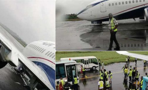 Tragedy Averted As Air Peace Aircraft Reportedly Crash Lands