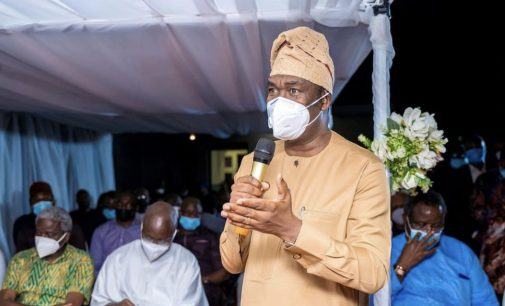 Baba Teacher Inspires, Even In Death…As Gov. Dapo Abiodun Receives Late Dad's Remains From London