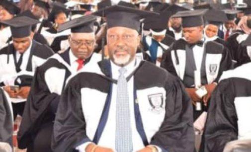Despite living in Dubai, Dino Melaye emerges best graduating student at Baze University