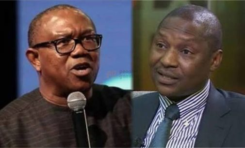 Learn To Think Before You Speaks – Peter Obi Blasts Malami