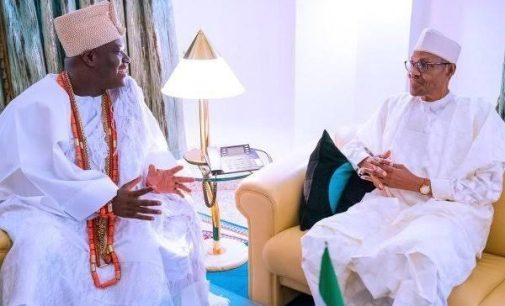 What I Told Buhari About Sunday Igboho – Ooni